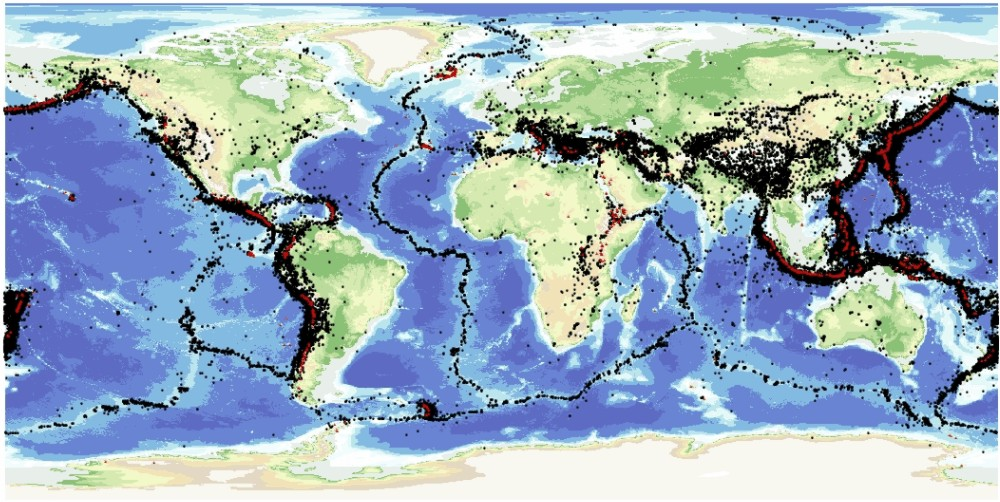 Earthquakes booklet why and where click here to view map as larger image gumiabroncs Gallery
