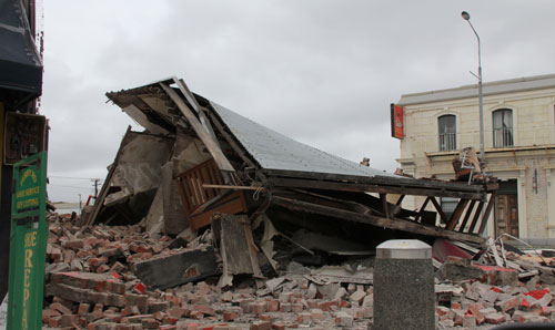 Christchurch collapsed building