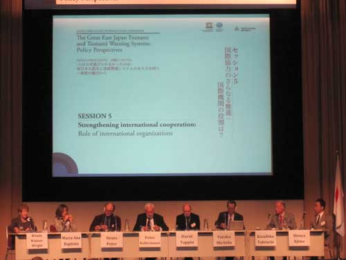 Fig 3. Panel Meeting at the IOC-UNESCO Symposium, February 2012.